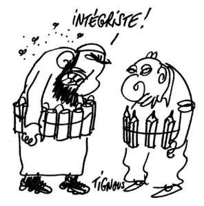 Dessin de Bernard Verlhac, dit Tignous, lui aussi décédé lors de la tuerie