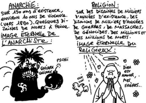 anarchie religion dessin