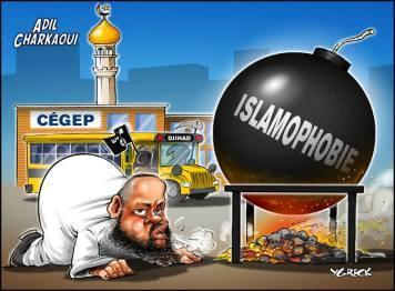 Caricature islamophobie