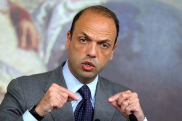 Angelo Alfano, Ministre de la Justice italienne.