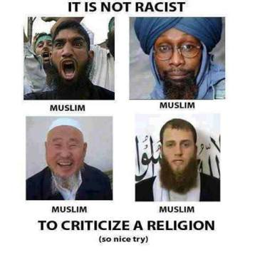 It's not racist to criticize a religion