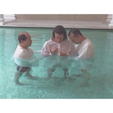 La photo du baptême de David Luiz