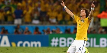 david Luiz Brésil