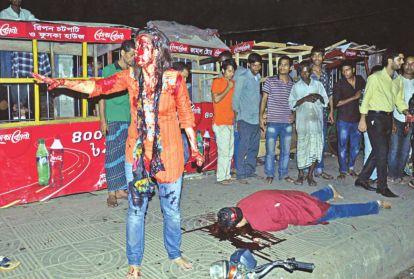 Assassinat d'Avijit Roy, militant américano-bangladais, en février 2015
