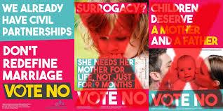 Une affiche de campagne du