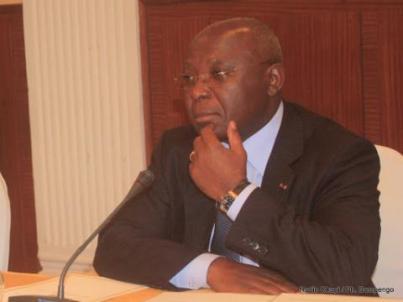 Raymond Zephirin Mboulou, le ministre de l'intérieur congolais