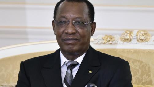 Idriss Déby, le président tchadien