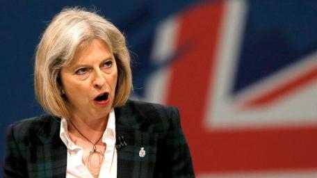 Theresa May, ministre de l'Intérieur britannique