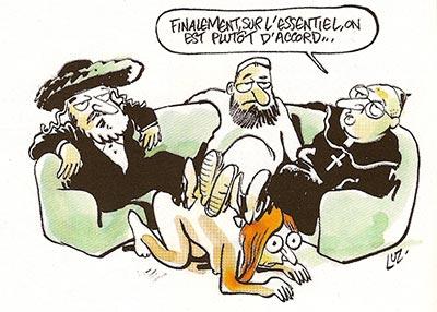 dessin luz religions