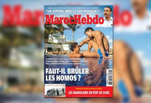 La une controversée de Maroc Hebdo