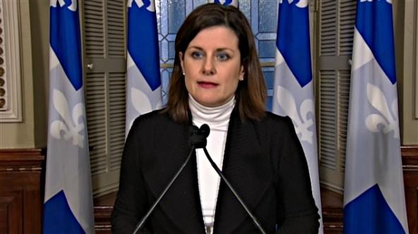Stéphanie Vallée, la ministre de la Justice du Québec