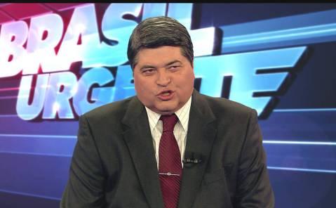 Le présentateur brésilien José Luiz Datena