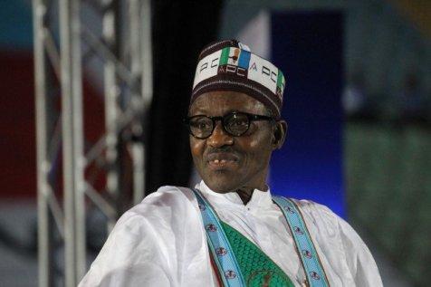 Le nouveau président Muhammadu Buhari