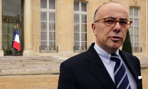 Bernard Cazeneuve, le ministre de l'Intérieur
