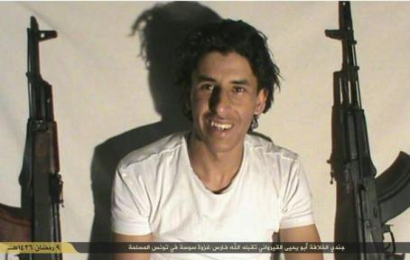 Abu Yahya al-Kairouani, un des auteurs de l'attentat en Tunisie