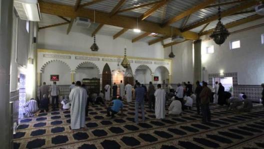 Salle de prière islam