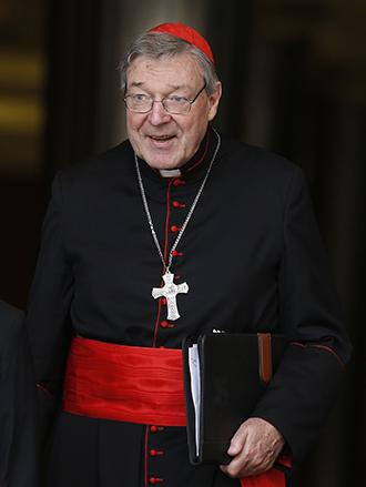 Le cardinal australien George Pell