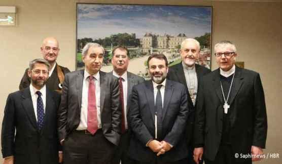 Les représentants du CRCF
