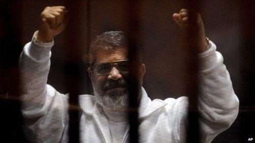 Mohamed Morsi, l'ancien président égyptien déchu