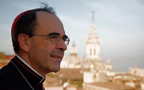 L'archevêque de Lyon Philippe Barbarin
