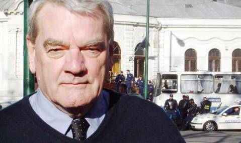 L'historien britannique controversé David Irving