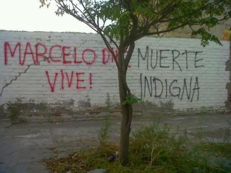 Ecrits sur un mur en Argentine contre son euthanasie