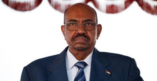 Omar El-Béchir, le président soudanais depuis 1989