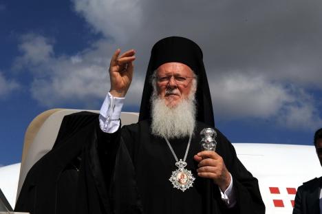 Le patriarche Bartholomée Ier de Constantinople