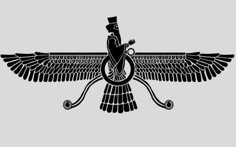 Le Faravahar, symbole sacré du zoroastrisme