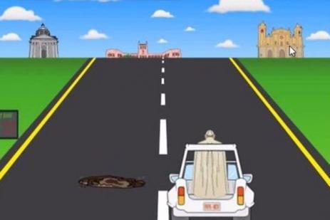 Capture d'écran du jeu vidéo Papa Road
