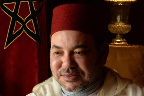 Le roi du Maroc Mohamed VI