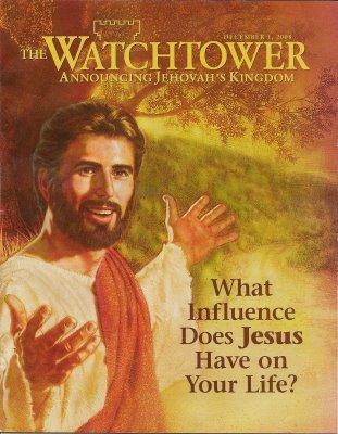 La couverture d'un numéro de Tour de Garde, le magazine des Témoins de Jéhovah