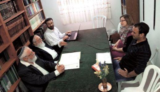Entretien préalable à une conversion au judaïsme