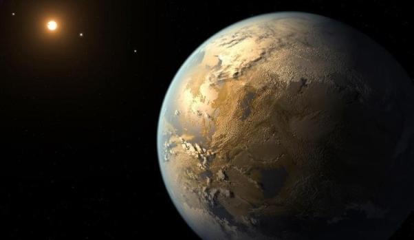 """L'exoplanète Kepler 452b, lointaine """"cousine"""" de la Terre"""