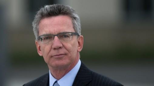 Thomas de Maizière, le ministre de l'intérieur allemand