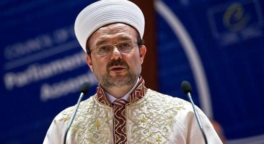 Mehmet Gömez, directeur des Affaires Islamiques turques