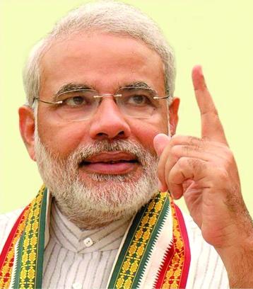 Narendra Modi, le premier ministre indien