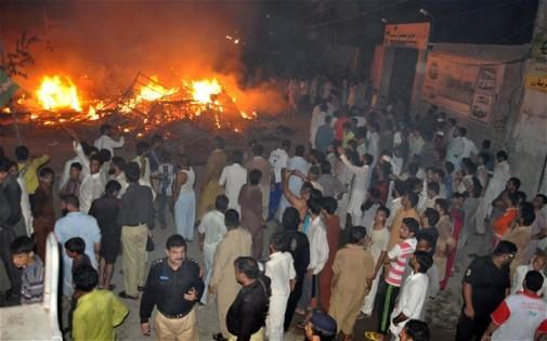 Riot Pakistan