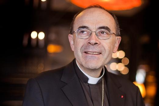 L'archevêque Philippe Barbarin