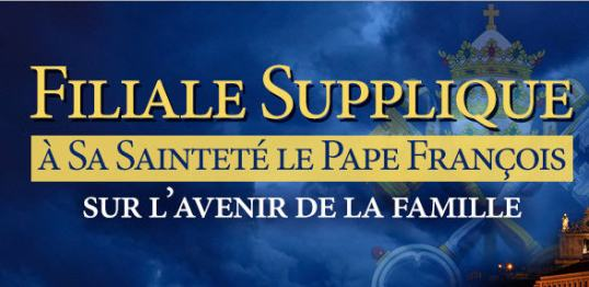 Logo du site officielle pour la pétition Supplique Filiale