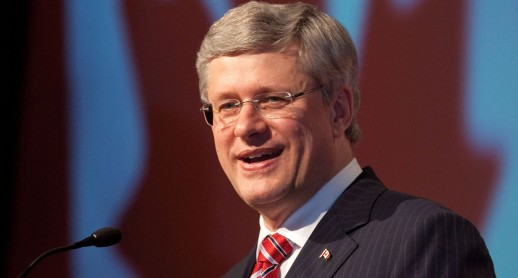 Le premier ministre canadien Stephen Harper