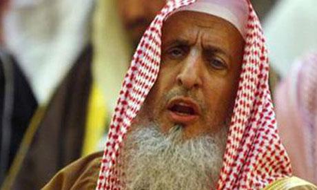 Le grand Mufti d'Arabie saoudite, cheikh Abdel Aziz al-Cheikh