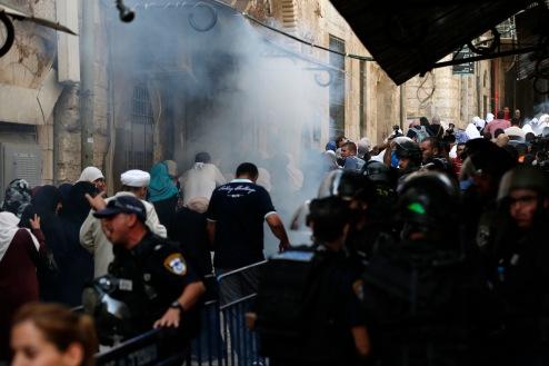 Israel Al Aqsa incident Jérusalem