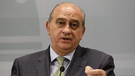 Jorge Fernandez Diaz, le ministre de l'Intérieur espagnol