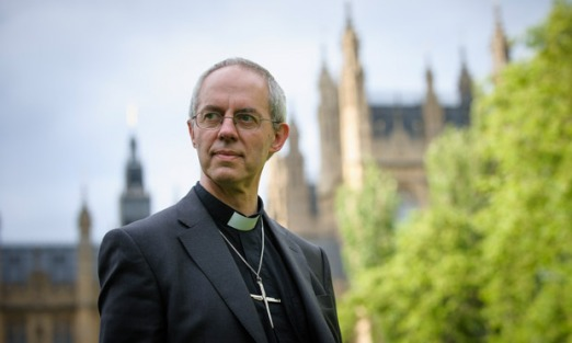 L'archevêque de Canterbury Justin Welby