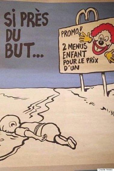 Le deuxième dessin de Charlie Hebdo sur la tragédie